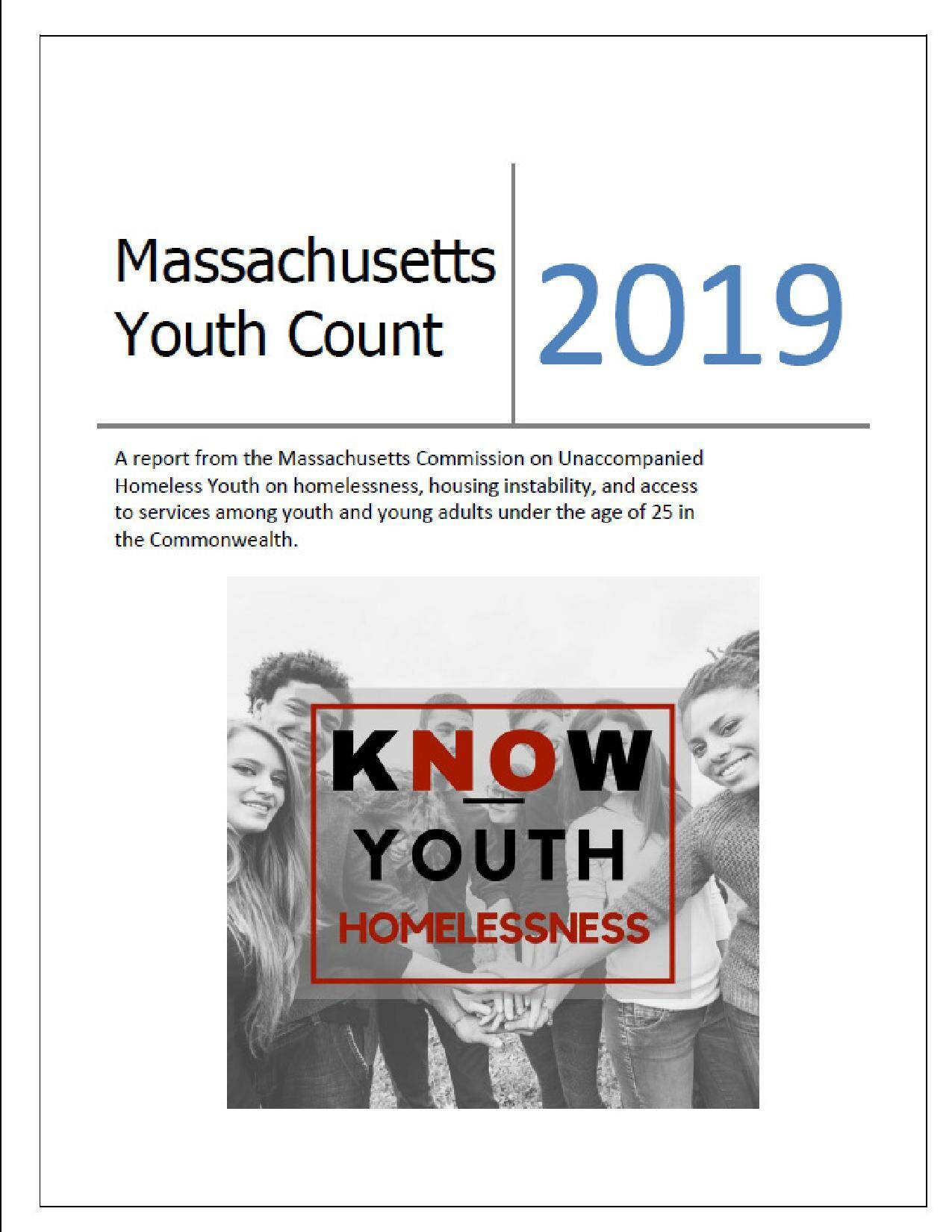 youth count 2019 cover